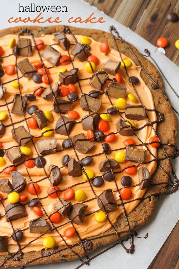 Halloween Cookies Recipes  Halloween Cookie Cake