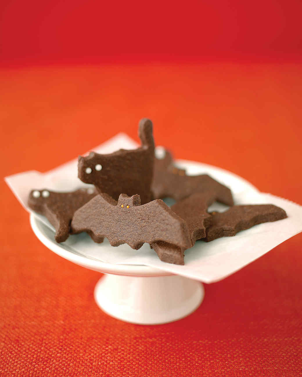 Halloween Cookies Recipes  Ghostly Bat and Cat Cookies Recipe