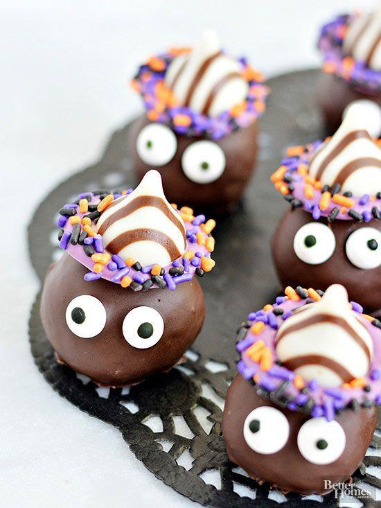 Halloween Cookies Recipes Easy  Goblin Cookie Truffles