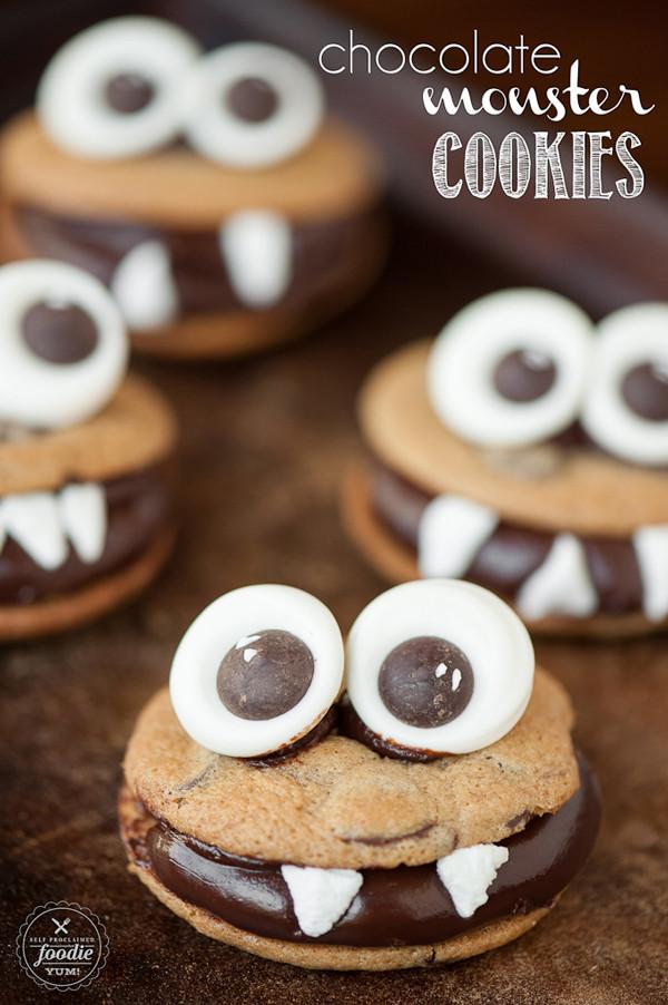 Halloween Cookies Recipes Easy  the Mega List of Easy Halloween Cookies It s Always Autumn