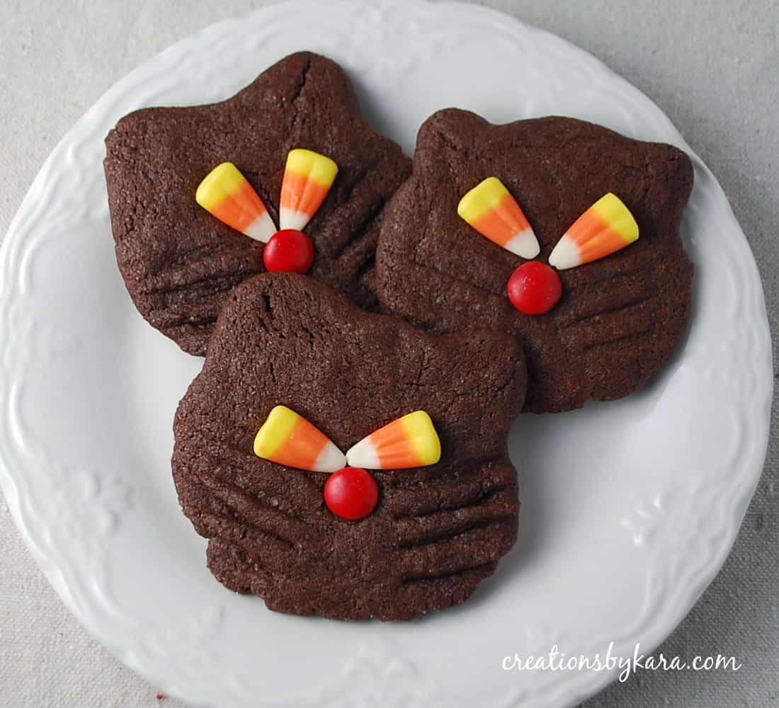 Halloween Cookies Recipes  Halloween Recipe Black Cat Cookies