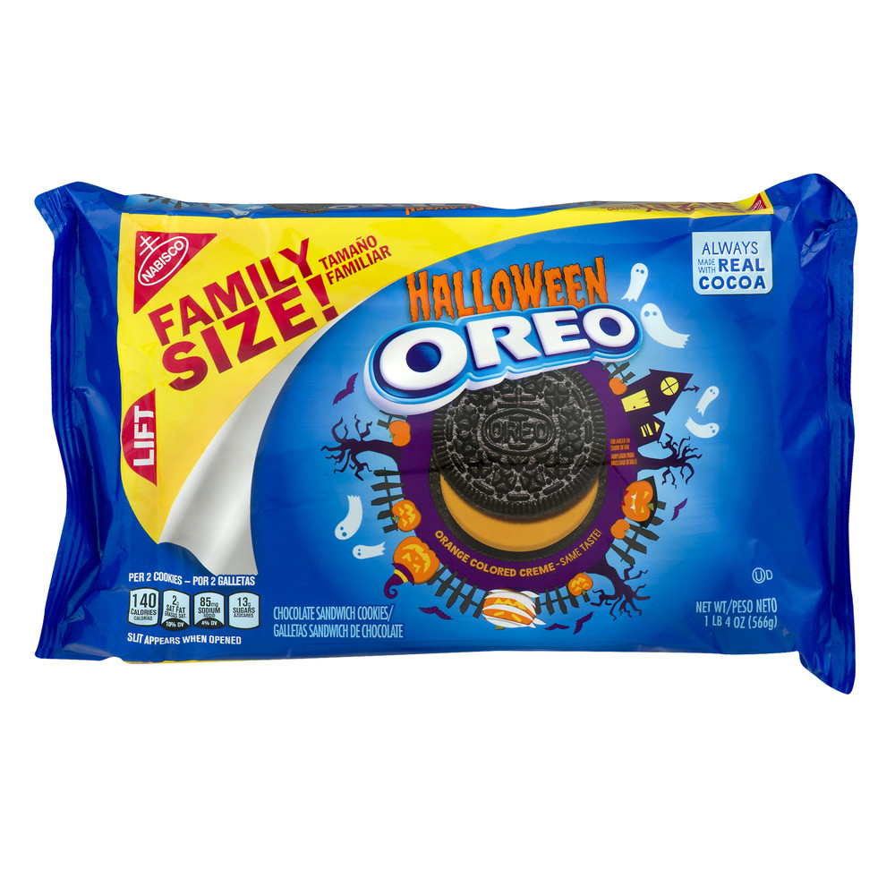 Halloween Cookies Walmart  Halloween Oreo Cookie 20 0 OZ Walmart