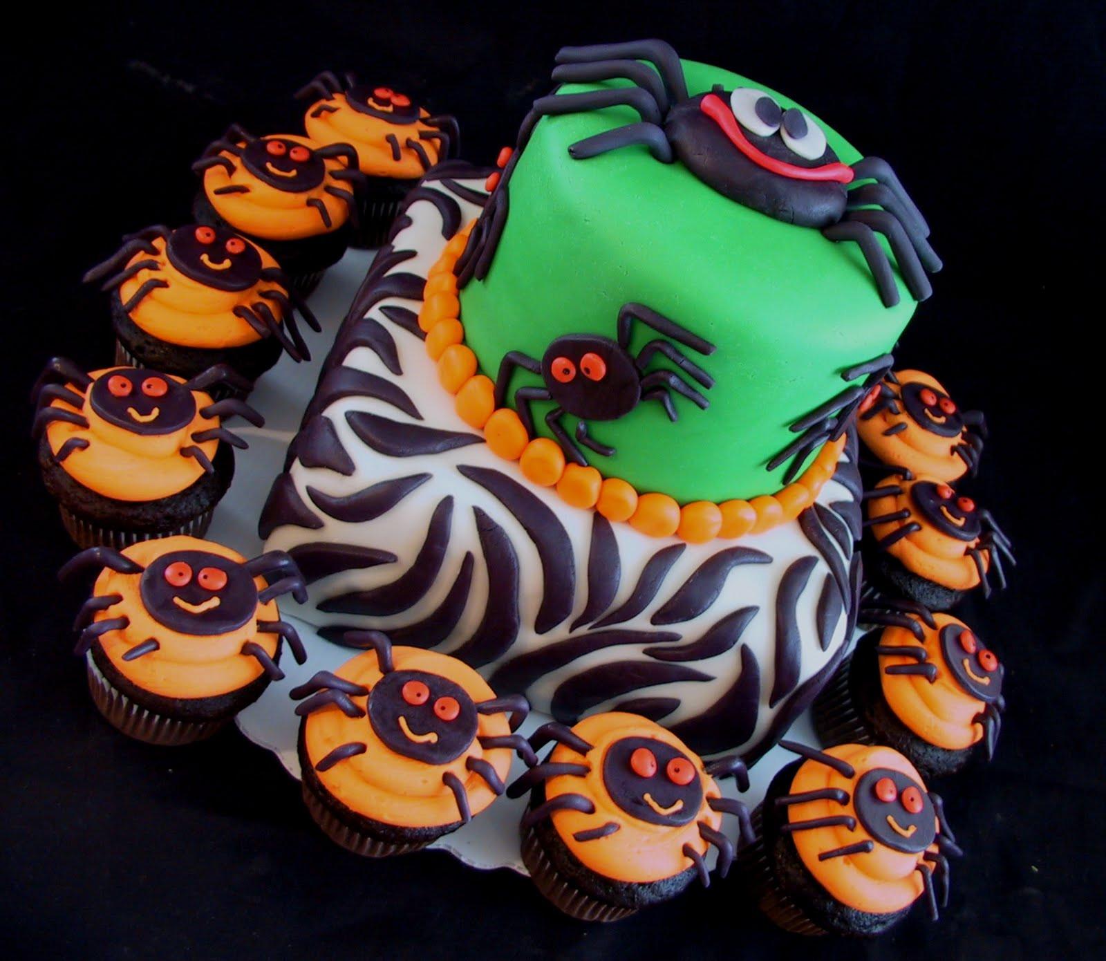 Halloween Cupcakes Cake  Birthday Cake Center Halloween Birthday Cakes 2011