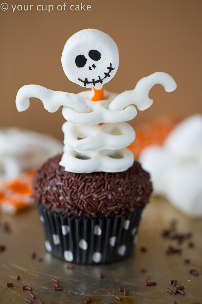 Halloween Cupcakes Cake  Cute and Easy Frankenstein Cupcakes Your Cup of Cake