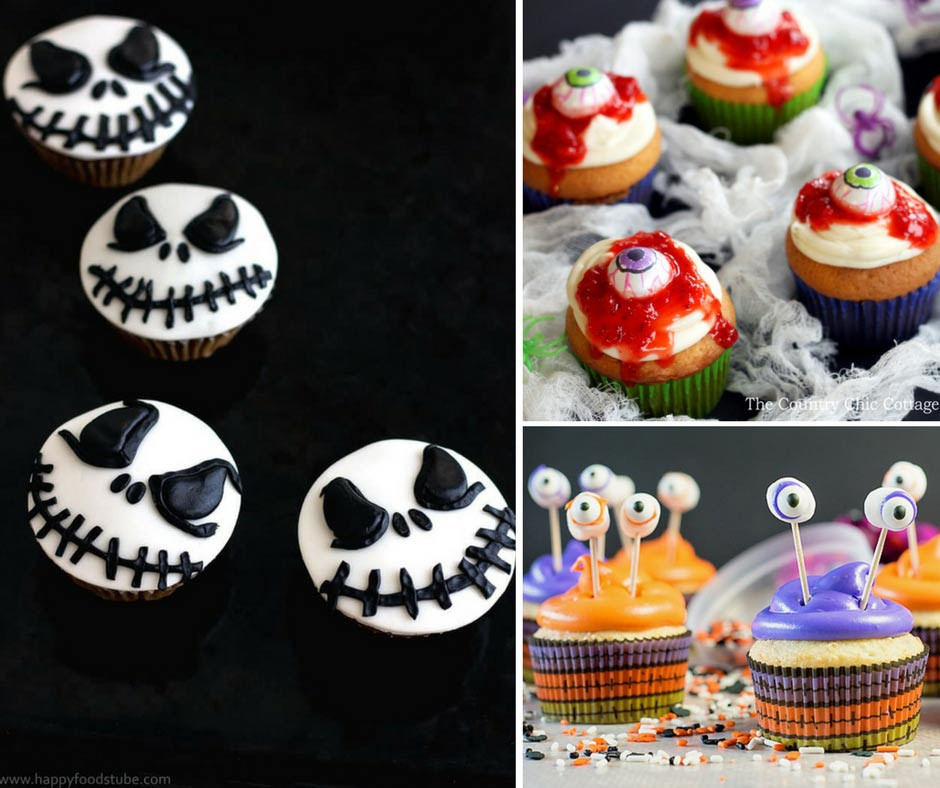 Halloween Cupcakes For Kids  12 Frightening Halloween Cupcakes That Will Scare Your Kids