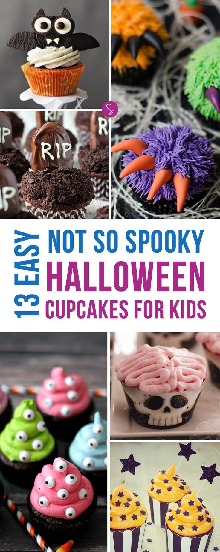 Halloween Cupcakes For Kids  1000 ideas about Halloween Cupcakes Easy on Pinterest