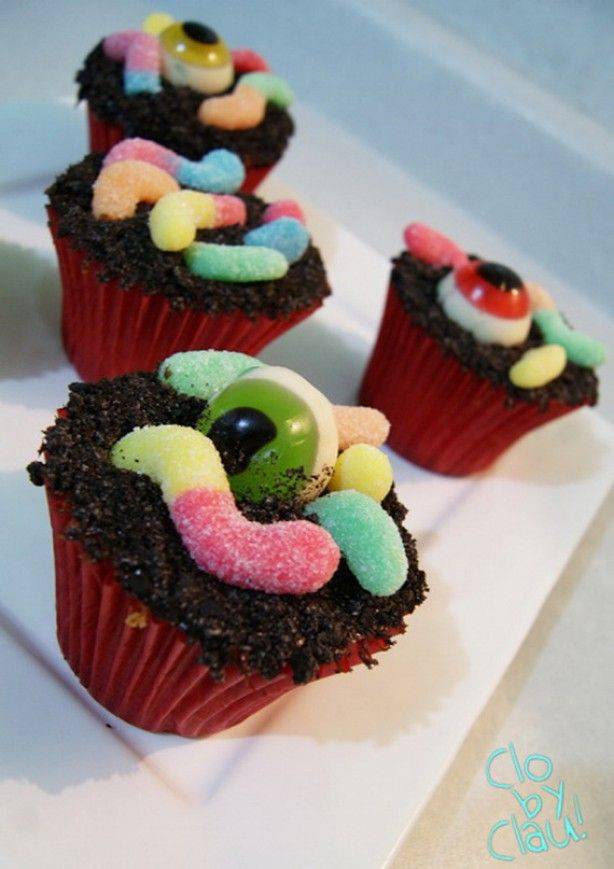 Halloween Cupcakes For Kids  7513 best images about For kids on Pinterest