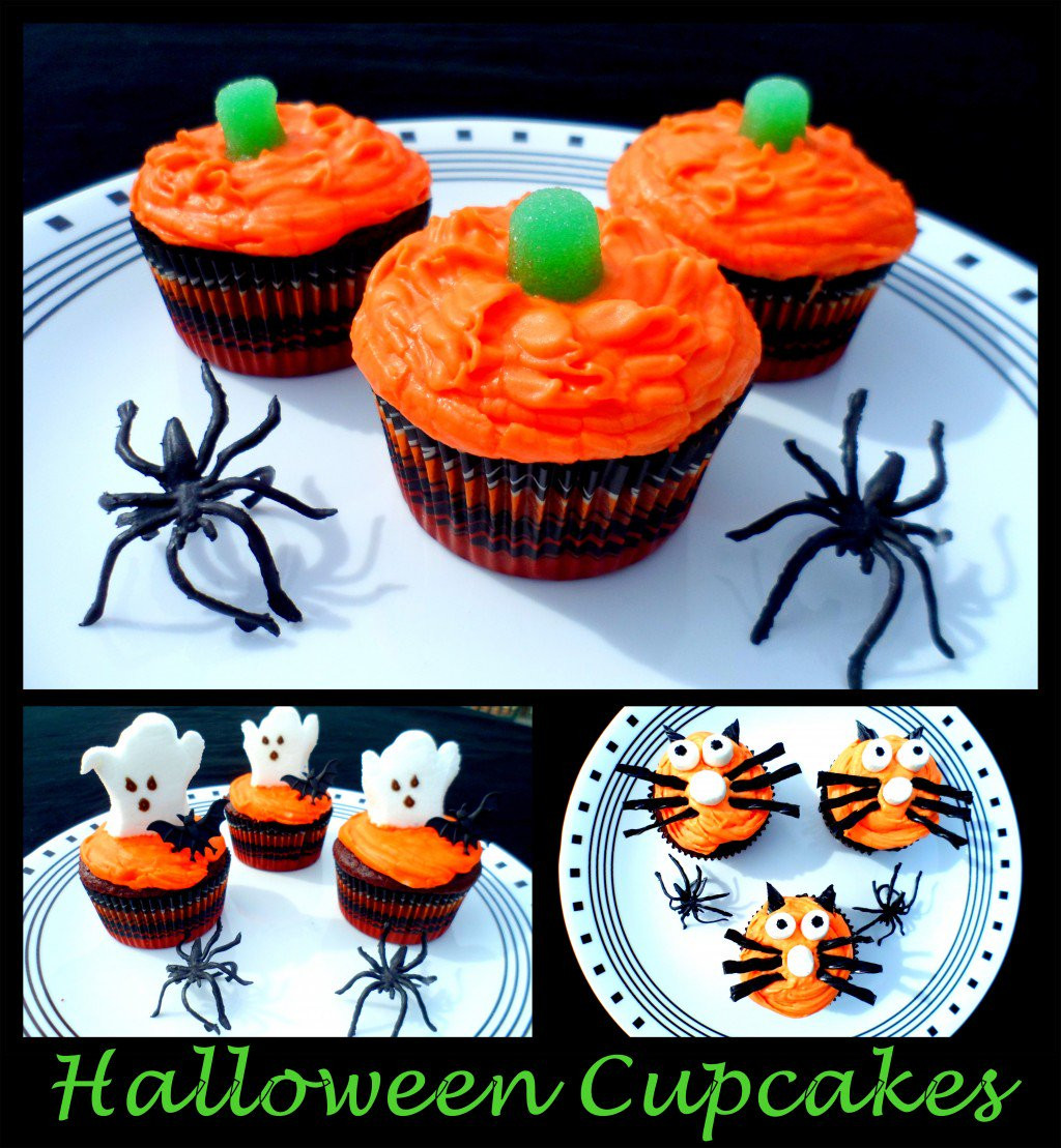 Halloween Cupcakes For Kids  Halloween Cupcakes Cupcake Decorating Ideas