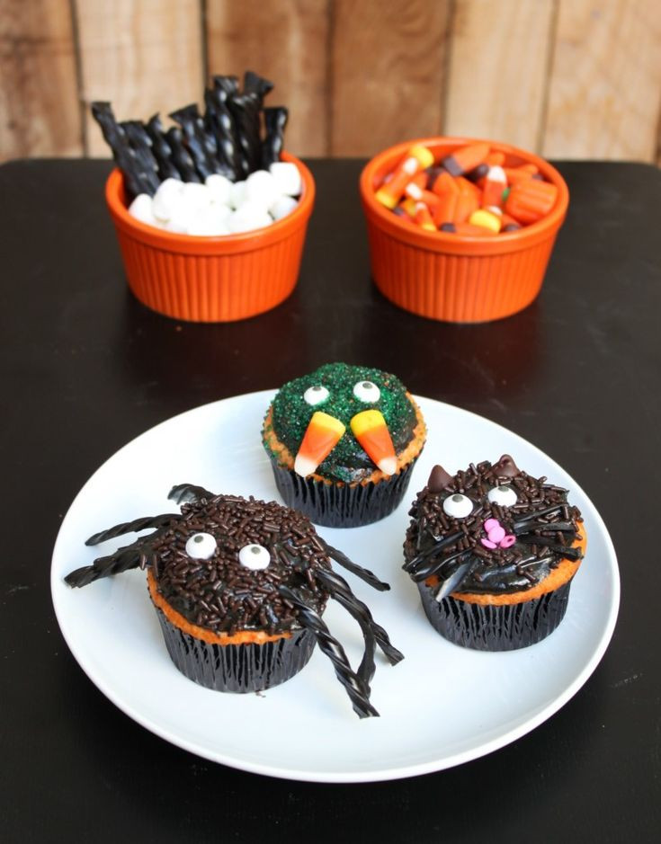 Halloween Cupcakes For Kids  Best 25 Halloween cupcakes decoration ideas on Pinterest