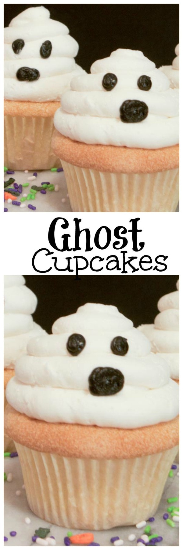 Halloween Cupcakes For Kids  Ghost Cupcakes Recipe