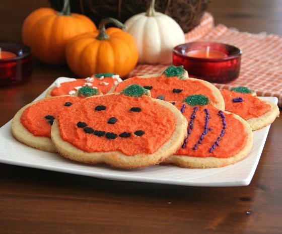 Halloween Cut Out Cookies  Low Carb Holiday Cut Out Cookies