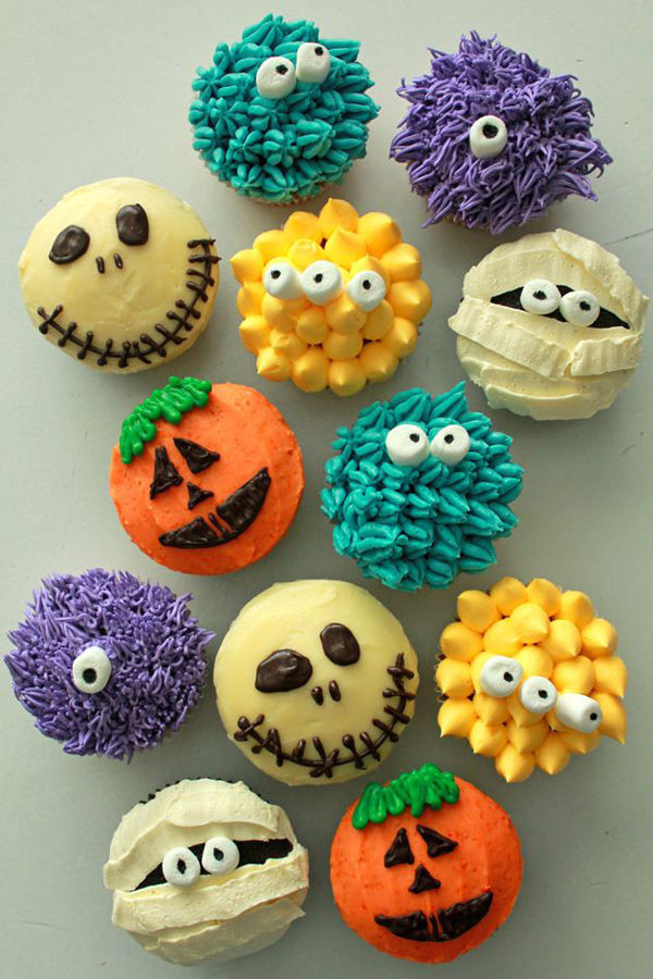 Halloween Decorating Cupcakes  Adorable Halloween Cupcakes s and