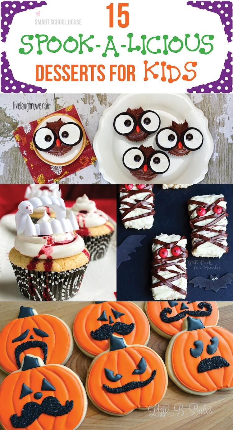Halloween Dessert For Kids  Spooky Desserts for Kids