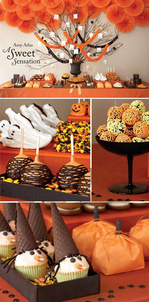 Halloween Dessert Table  Pop Culture And Fashion Magic Easy Halloween food ideas