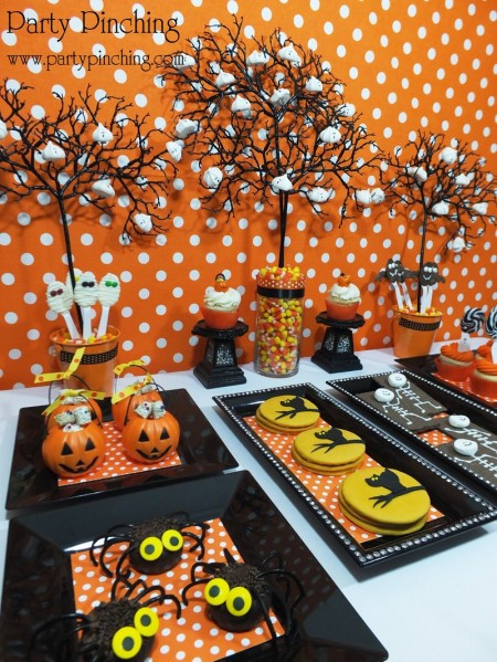 Halloween Dessert Table  Be Different Act Normal Halloween Dessert Table