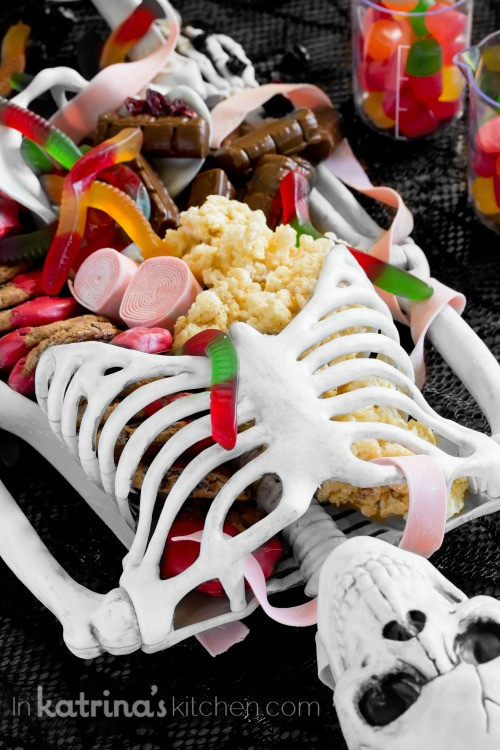 Halloween Desserts For Adults  Halloween Dessert Table Skeleton