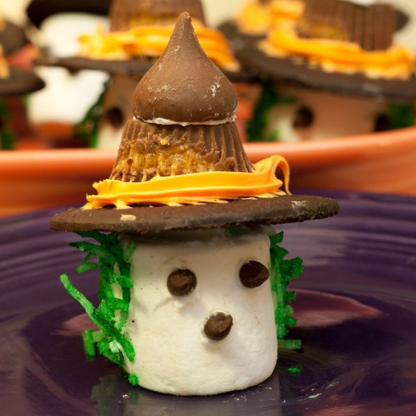 Halloween Desserts For Adults  Making Marshmallow Witches