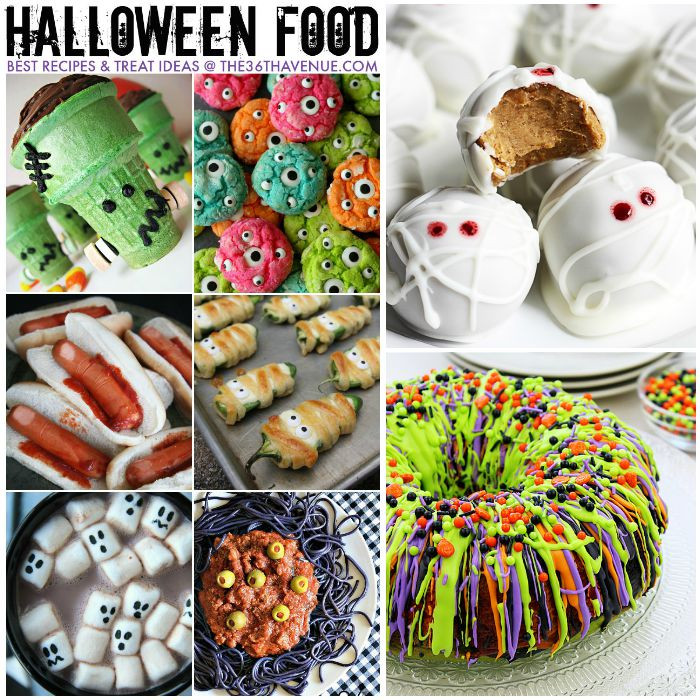 Halloween Desserts Recipes  Halloween Best Treats and Recipes The 36th AVENUE