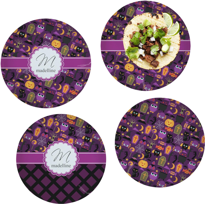 Halloween Dinner Plates  Halloween Dinner Plate Personalized YouCustomizeIt