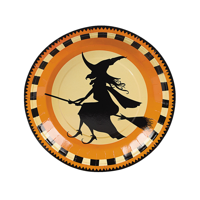 Halloween Dinner Plates  Pumpkin Bread Free N Fun Halloween from Oriental Trading