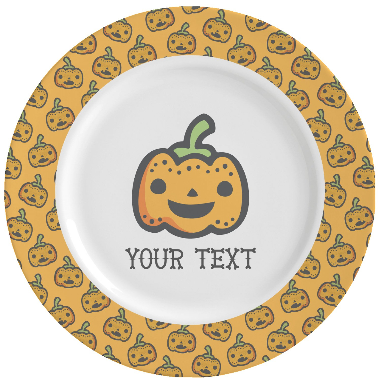 Halloween Dinner Plates  Halloween Pumpkin Ceramic Dinner Plates Set of 4