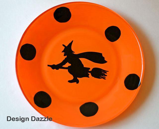 Halloween Dinner Plates  Make Your Own Halloween Dinner Plates Design Dazzle