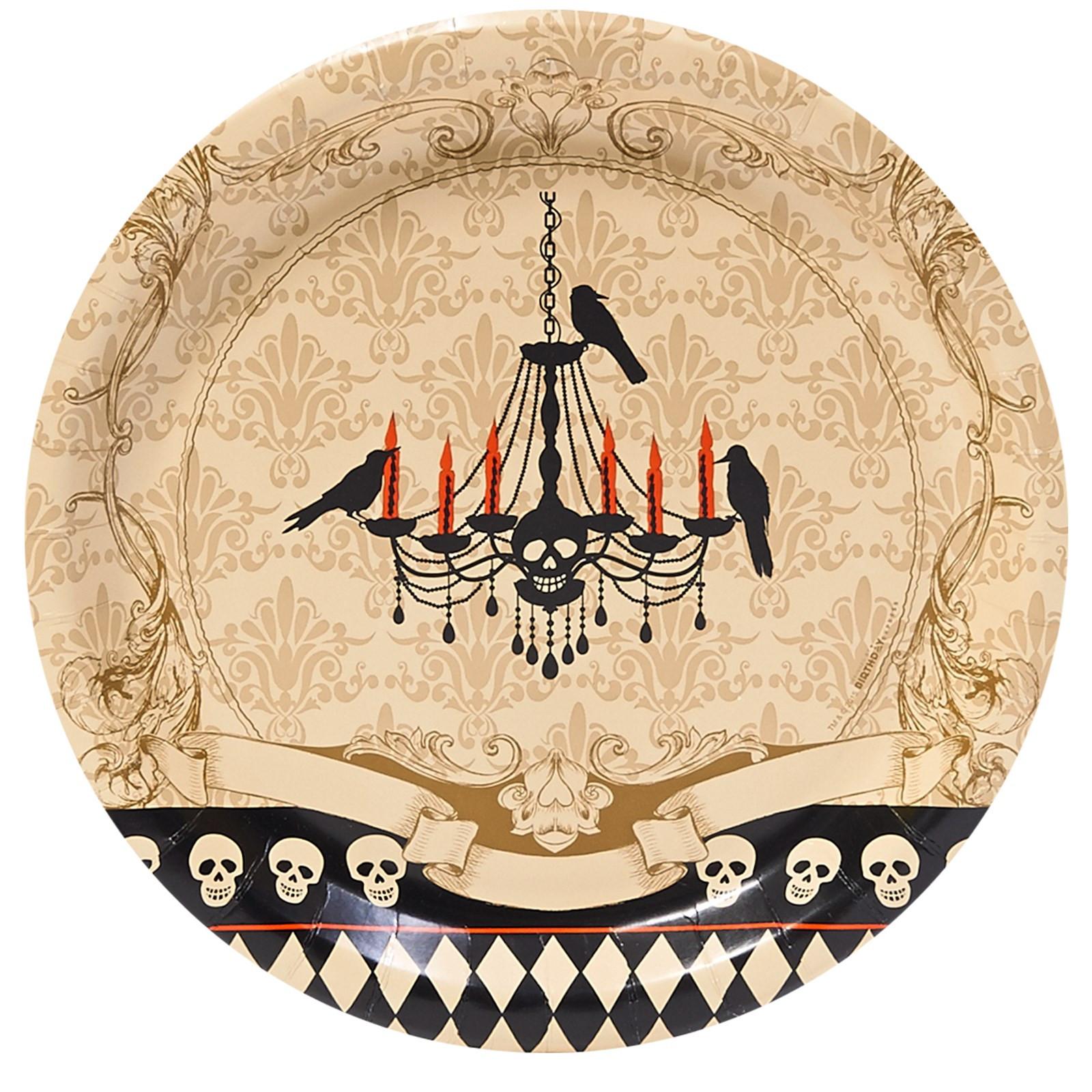 Halloween Dinner Plates  Halloween Mugs and Dinnerware