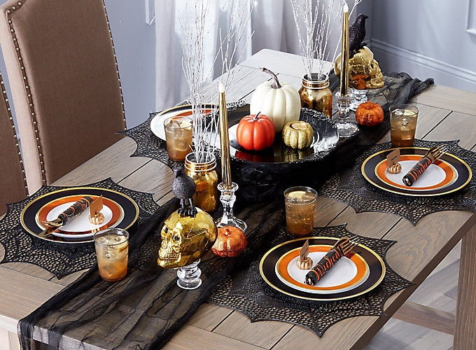 Halloween Dinners For Adults  Elegant Halloween Dinner Ideas Party City