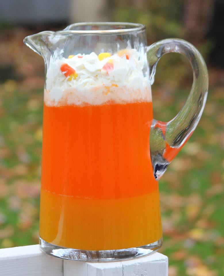 Halloween Drinks Recipes Alcoholic  Punkie Pie s Place Candy Corn Punch