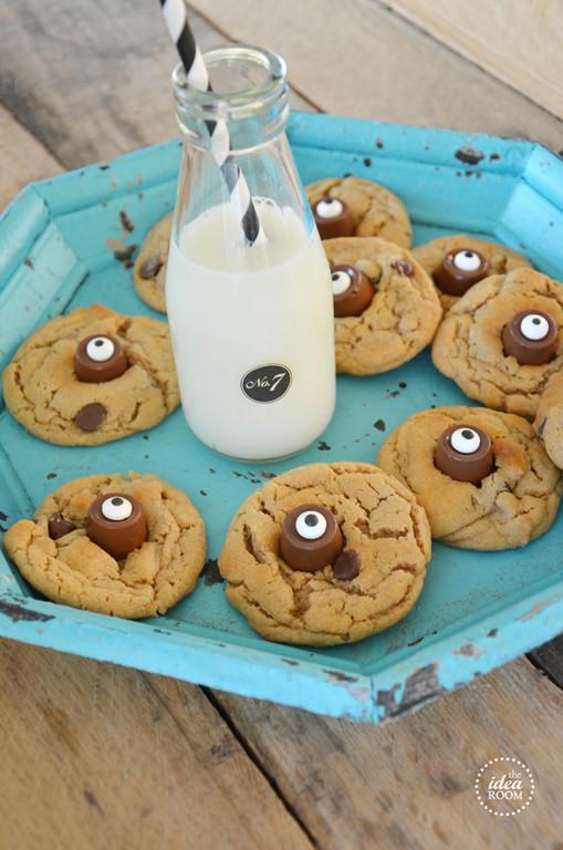 Halloween Eyeball Cookies  Halloween Cookies