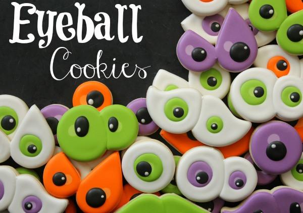 Halloween Eyeball Cookies  My Pinterest Picks for Fun Halloween Food Hungry Happenings