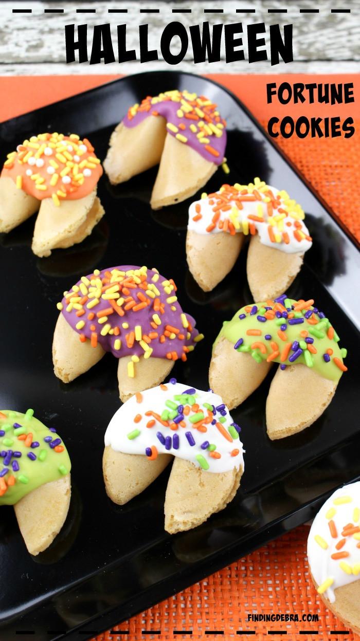 Halloween Fortune Cookies  Halloween DIY Frankenstein Clay Pot Finding Debra