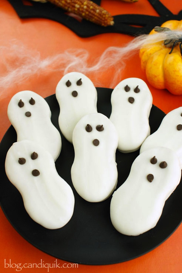 Halloween Ghost Cookies  11 Halloween Recipes and Ideas ingre ntsinc
