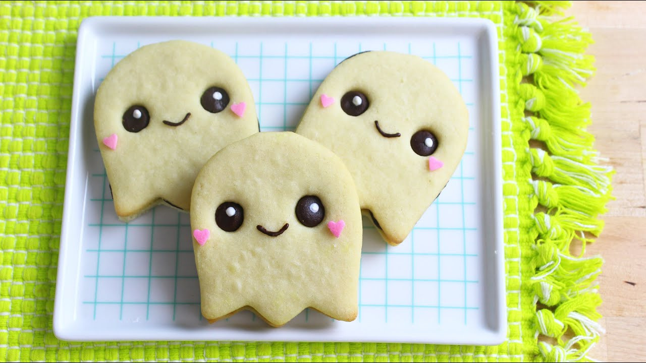 Halloween Ghost Cookies  How to Make Halloween Ghost Cookies
