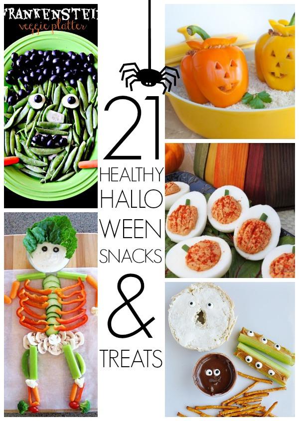 Halloween Healthy Snacks  Healthy Halloween snacks C R A F T
