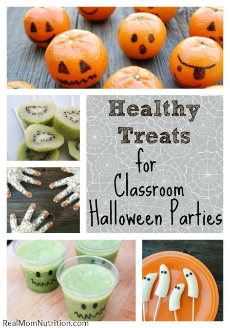 Halloween Healthy Snacks For Classroom  Healthy Halloween Blog Roundup Nutrition Starring YOU