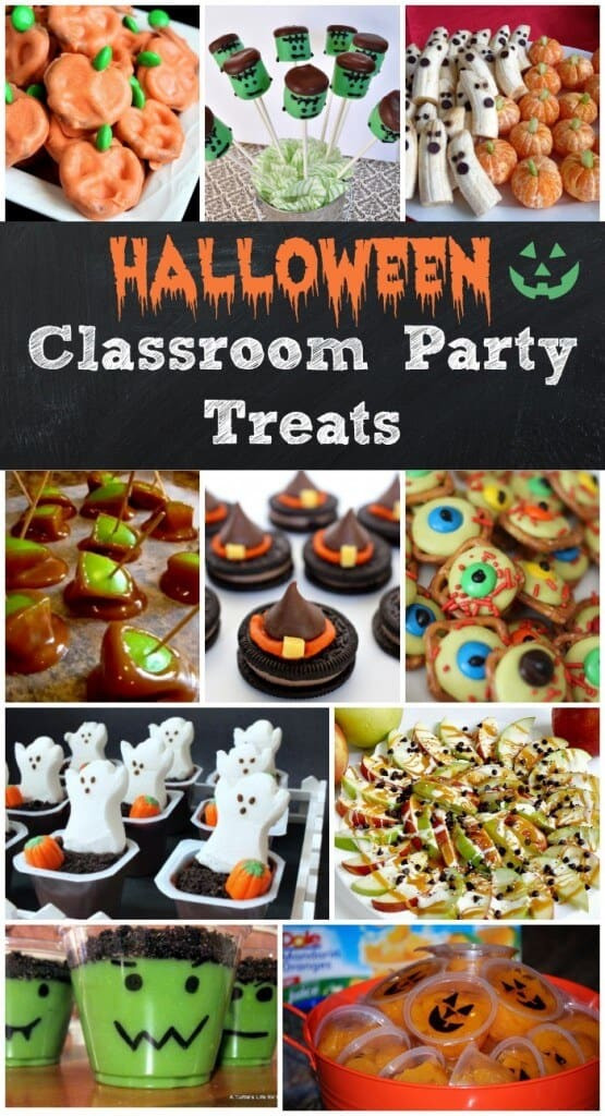 Halloween Healthy Snacks For Classroom  Easy Halloween Treats for your Classroom Parties or just