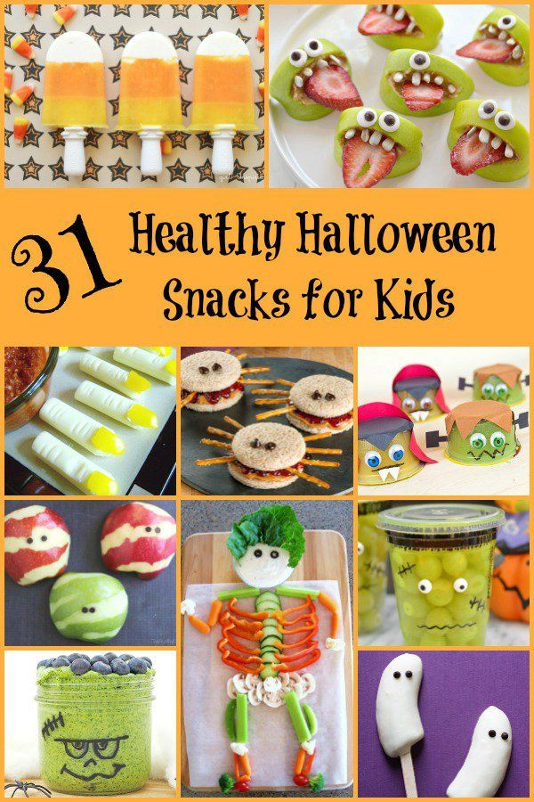 Halloween Healthy Snacks For Classroom  1000 images about Cooking with Kids on Pinterest