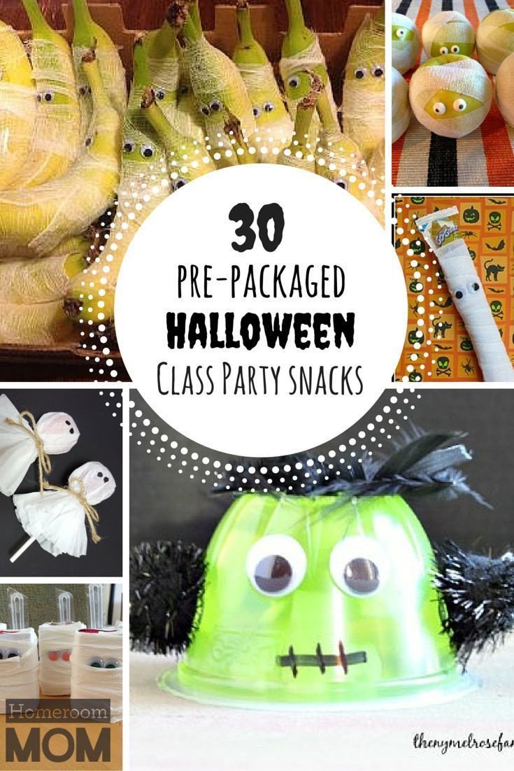 Halloween Healthy Snacks For Classroom  101 best images about Let s Get Scary Halloween on