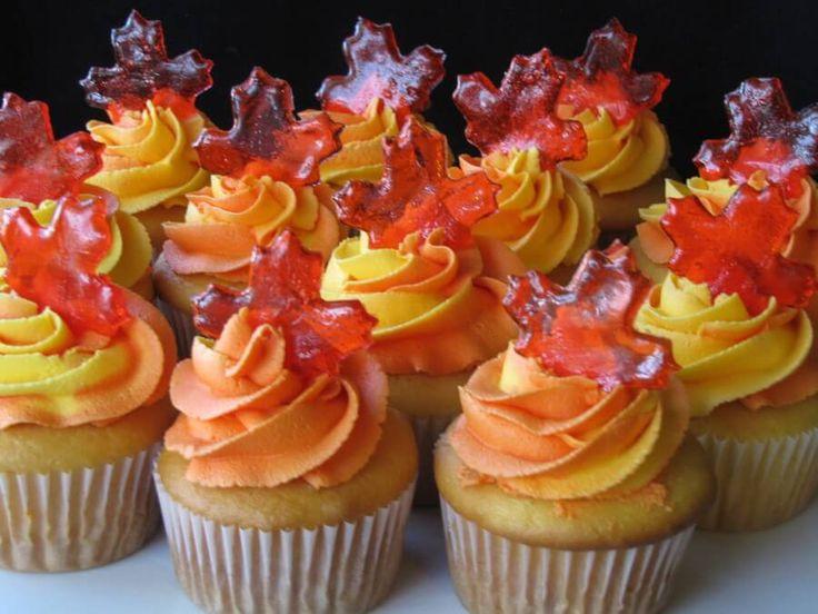Halloween Inspired Cupcakes  Best 25 Autumn cupcakes ideas on Pinterest