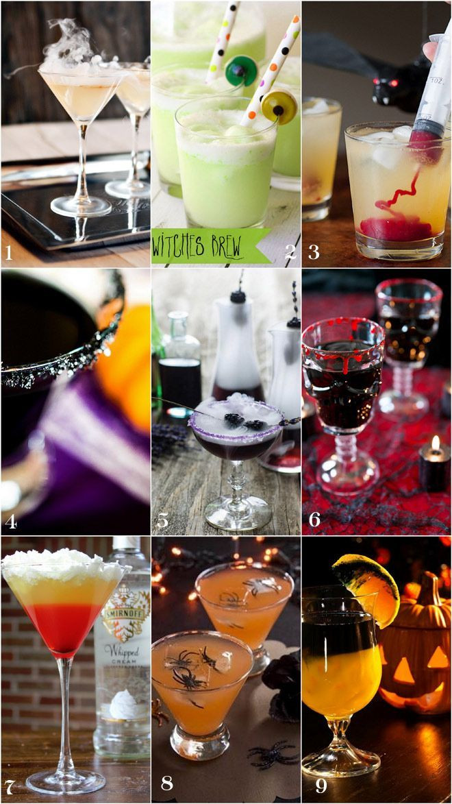 Halloween Party Alcoholic Drinks  247 best images about Halloween parties on Pinterest