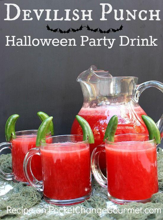 Halloween Party Alcoholic Drinks  Halloween party drinks Party drinks and Halloween party