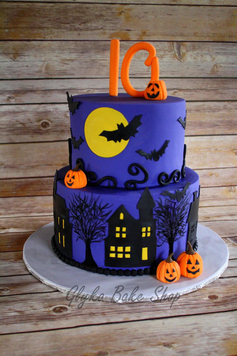 Halloween Party Cakes  13 Ghoulishly Festive Halloween Birthday Cakes Southern