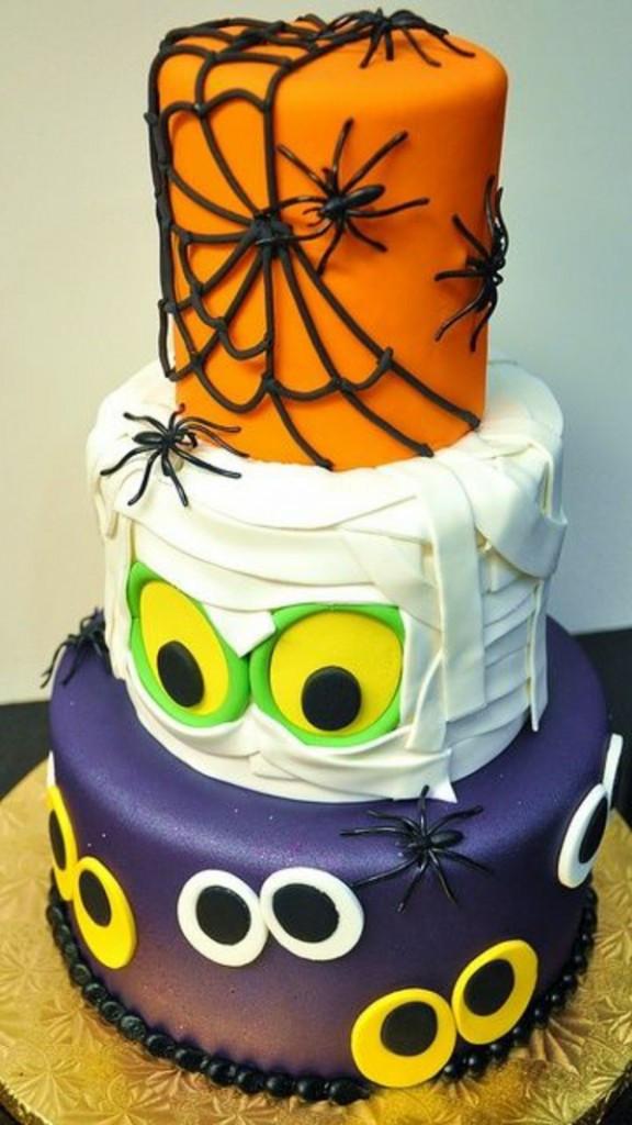Halloween Party Cakes  Halloween Cake Decor – Mad Cakes Ideas – Fresh Design Pedia