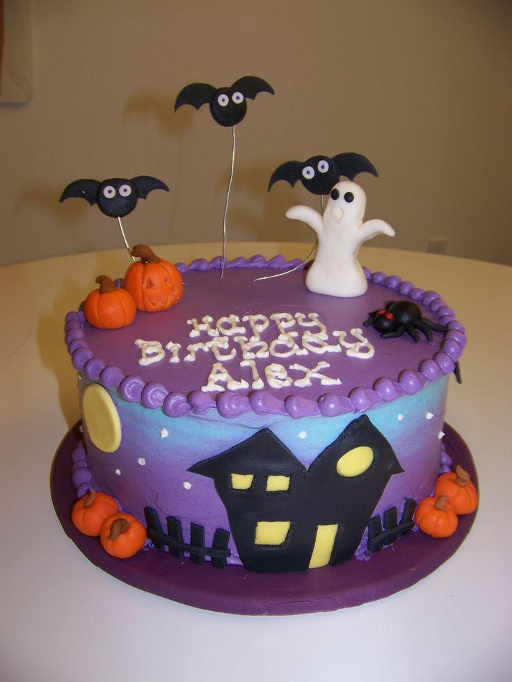 Halloween Party Cakes  Best 25 Halloween cake decorations ideas on Pinterest