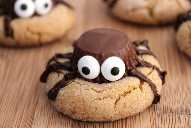 Halloween Peanut Butter Cookies  Halloween Party Food Ideas For Your Little Monsters