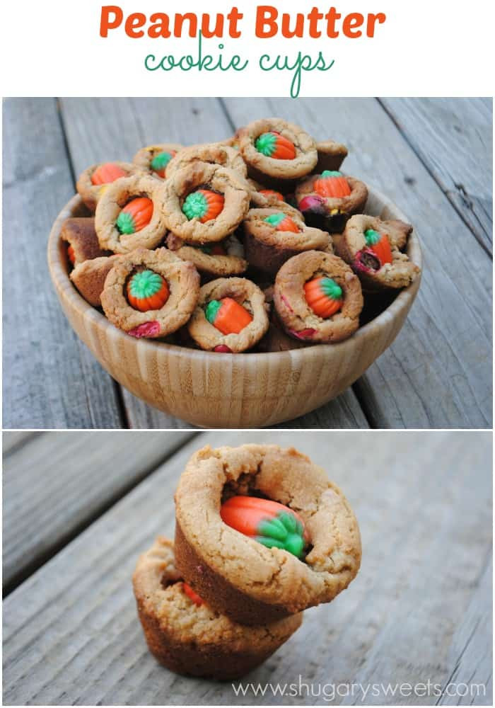 Halloween Peanut Butter Cookies  Peanut Butter Cookie Bites Shugary Sweets