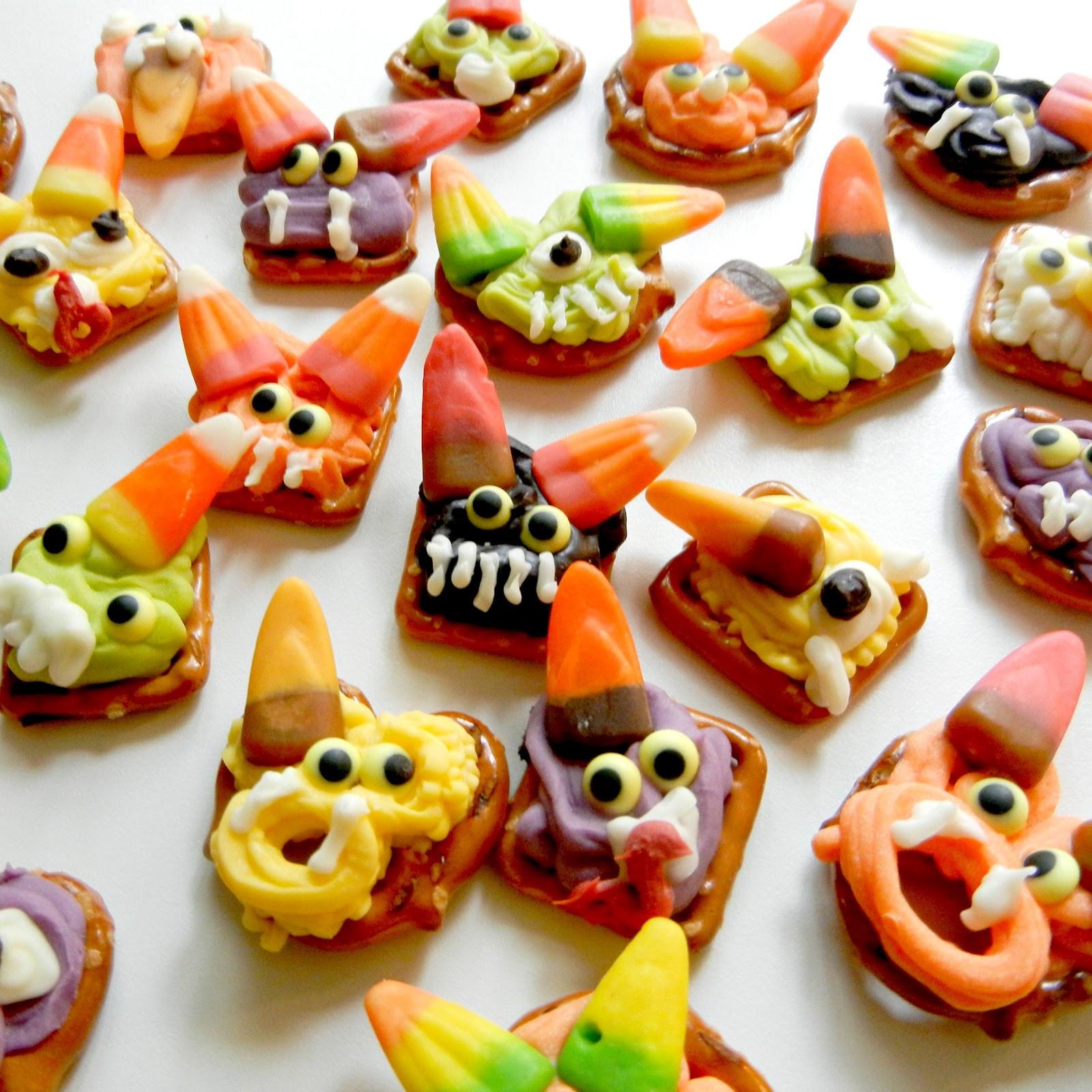 Halloween Pretzels Treats  Sugar Swings Serve Some super simple halloween pretzels
