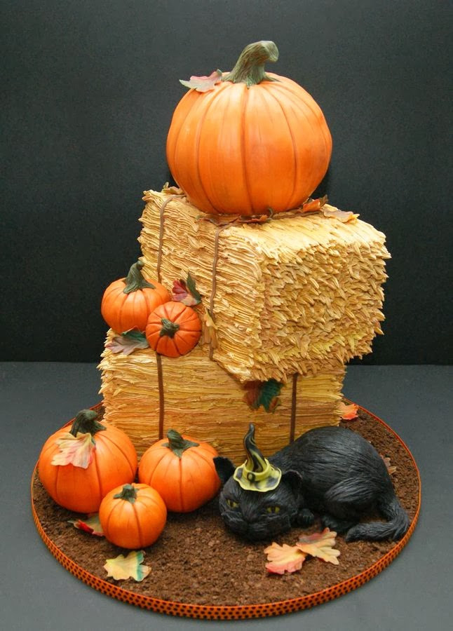 Halloween Pumpkin Cake  Ideas & Products Halloween cakes