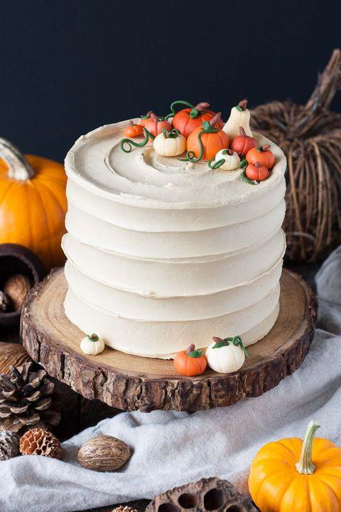 Halloween Pumpkin Cake  70 Easy Halloween Cakes Halloween Cake Recipes and